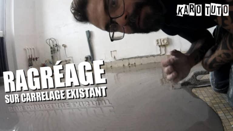 KaroTuto - Ragréage - Vignette youTube