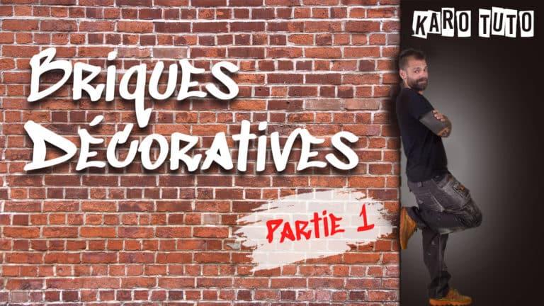 KaroTuto - Briques décoratives - Vignette youTube