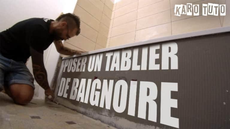 KaroTuto - Tablier de baignoire - Vignette youTube