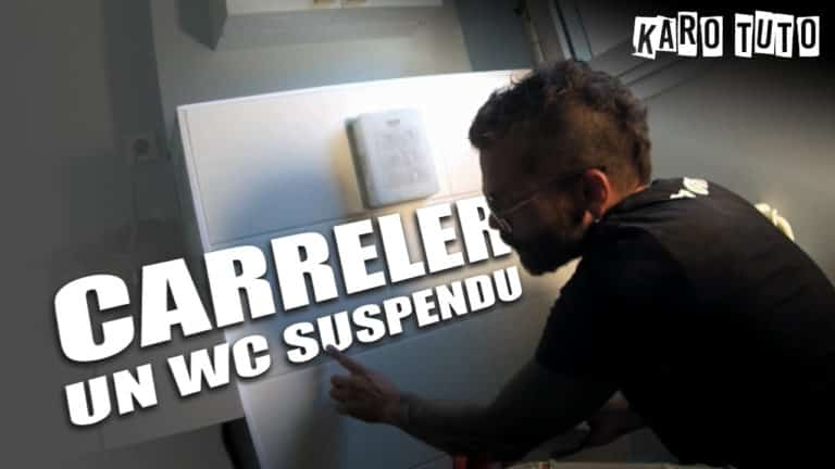 KaroTuto - WC suspendu - Vignette youTube