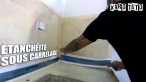 KaroTuto - Etanchéité sous carrelage - Vignette youTube