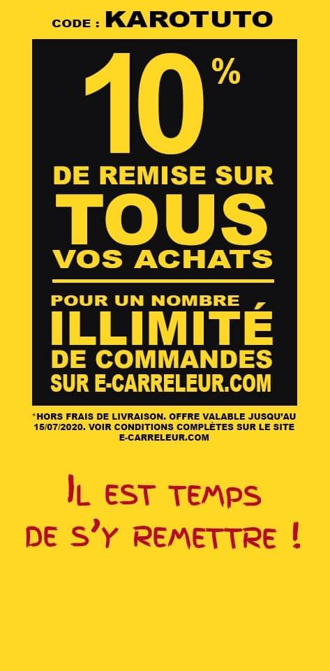 Promotion E-Carreleur